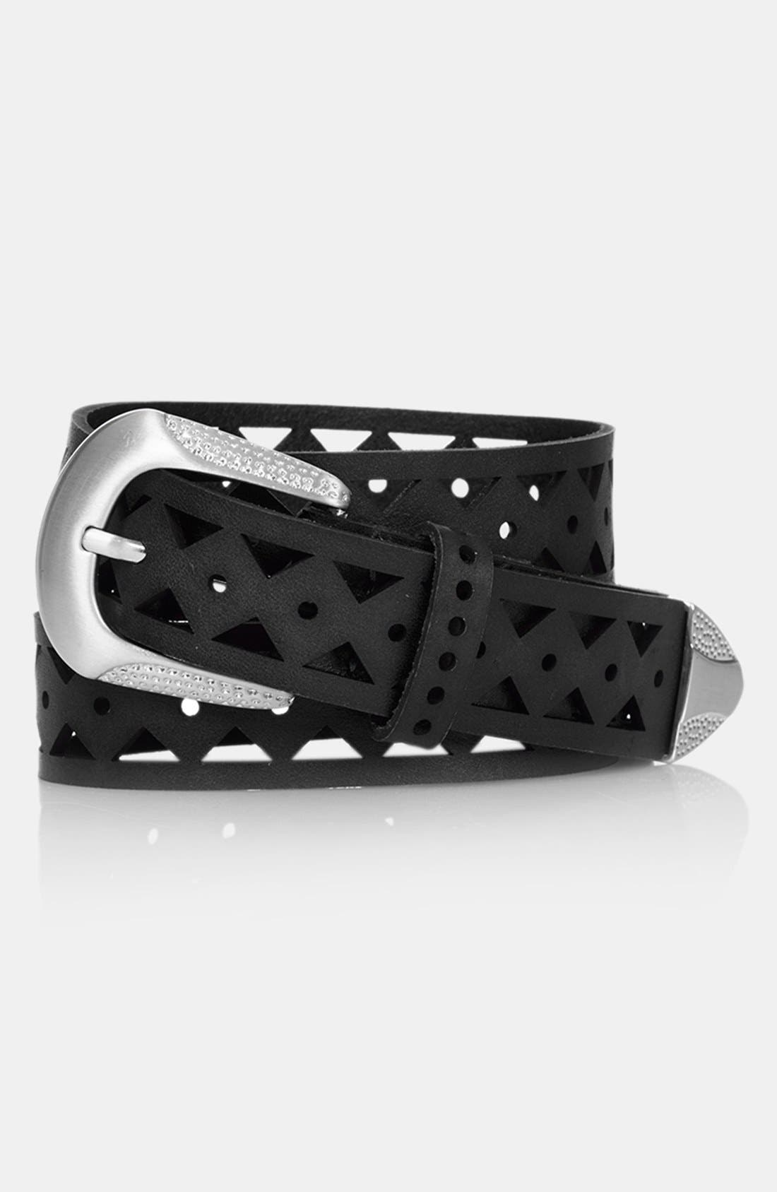 Alternate Image 1 Selected - Topshop Geometric Cutout Belt
