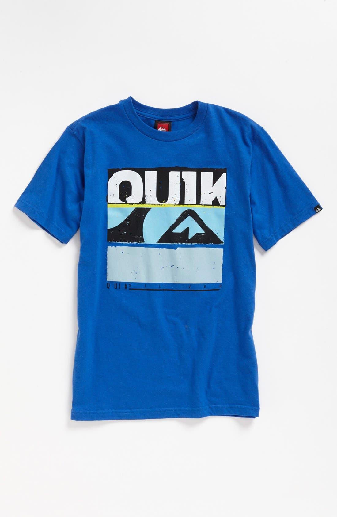 Alternate Image 1 Selected - Quiksilver 'Unglued' T-Shirt (Little Boys & Big Boys) (Online Only)