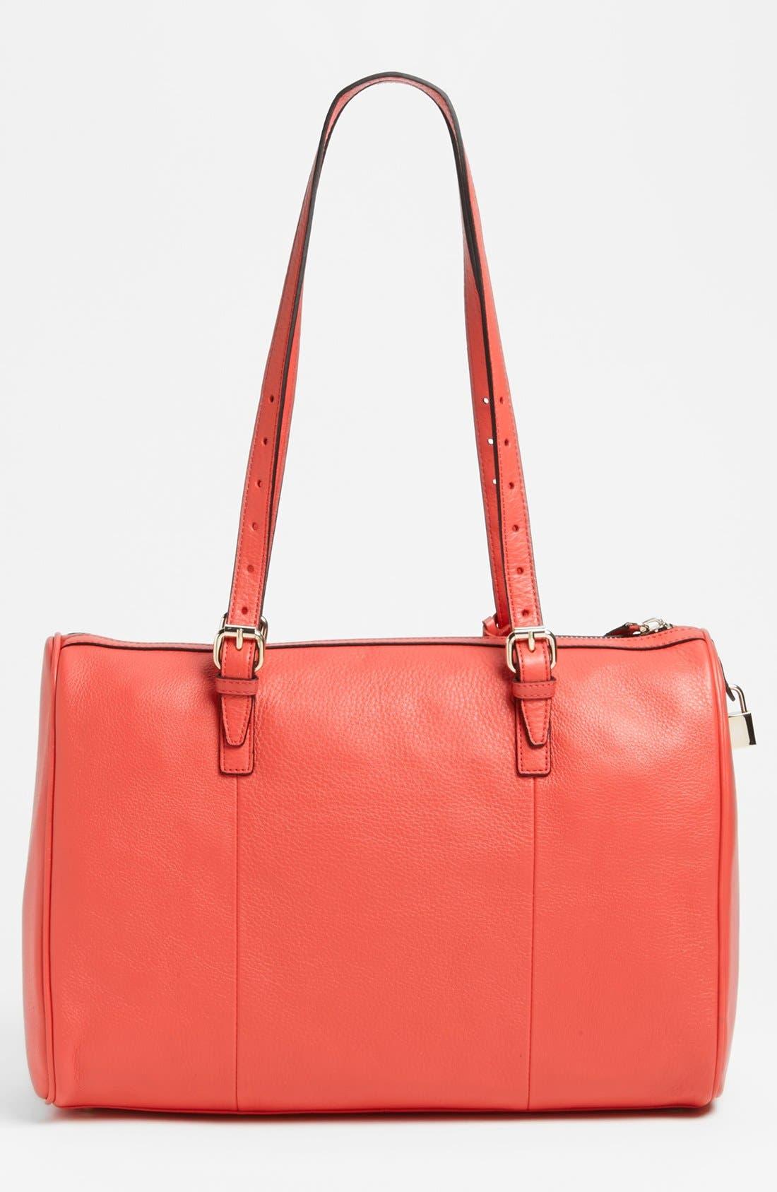 Alternate Image 4  - Halogen® Leather Satchel