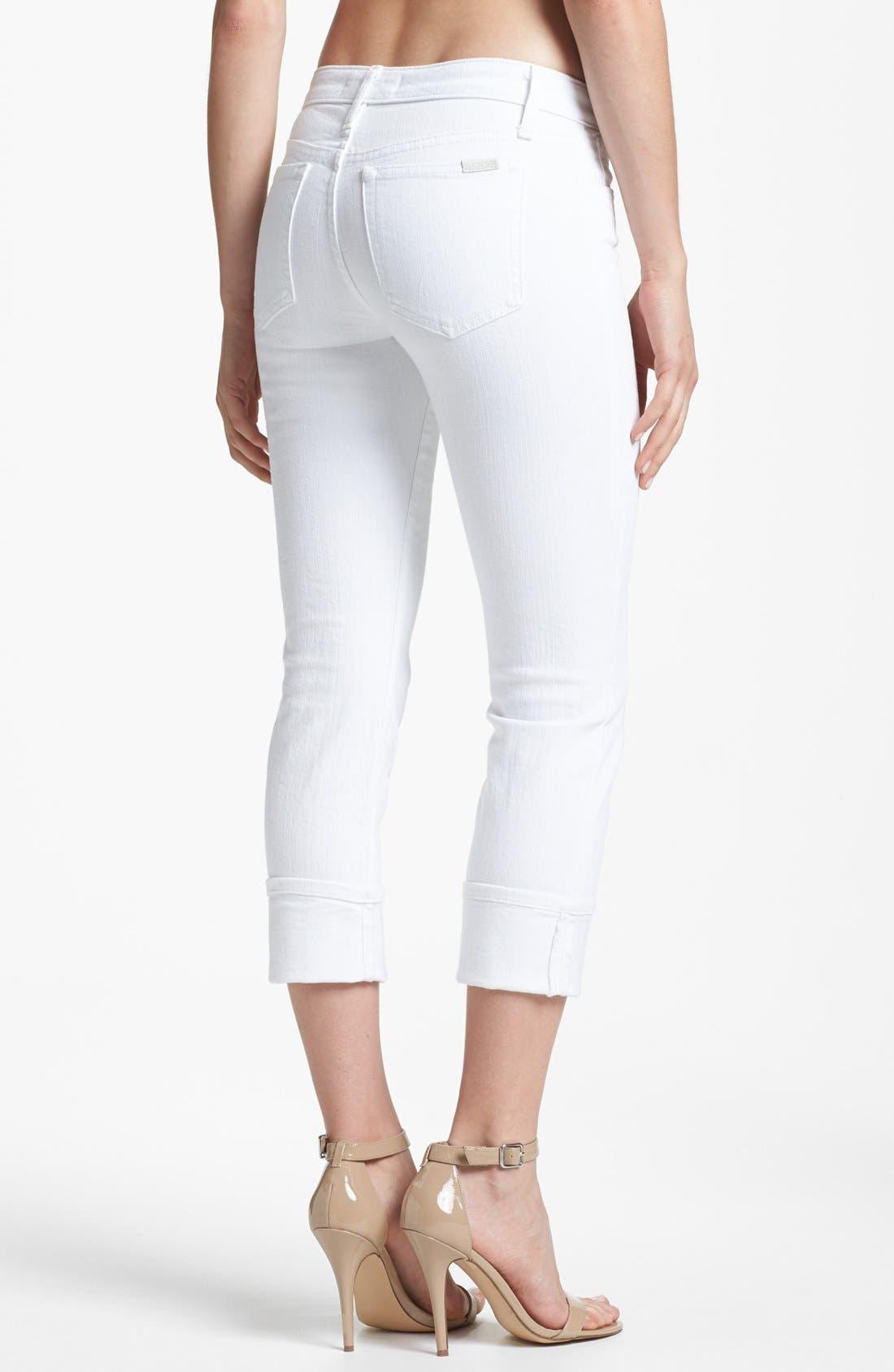 Alternate Image 2  - Joe's Cuff Crop Jeans (Bonnie)