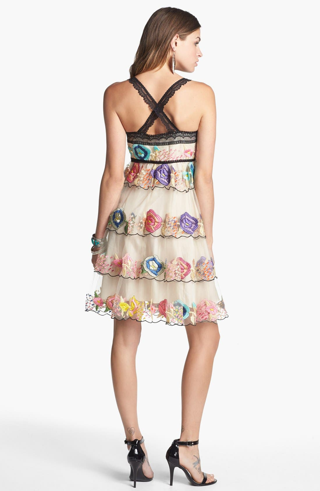 Alternate Image 2  - Free People 'Ramble Rose' Embroidered Dress
