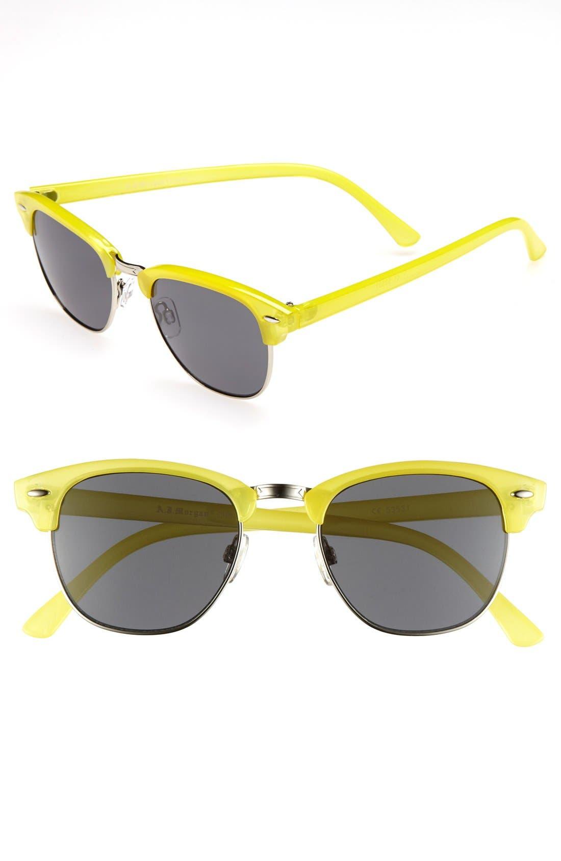 Main Image - A.J. Morgan 'Sorbet' Sunglasses
