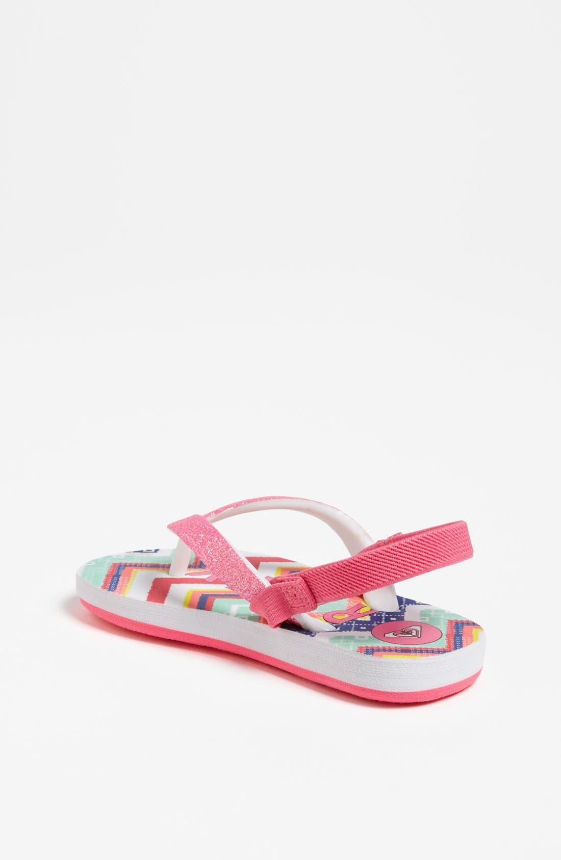 Alternate Image 2  - Roxy 'Tahiti' Sandal (Walker & Toddler)