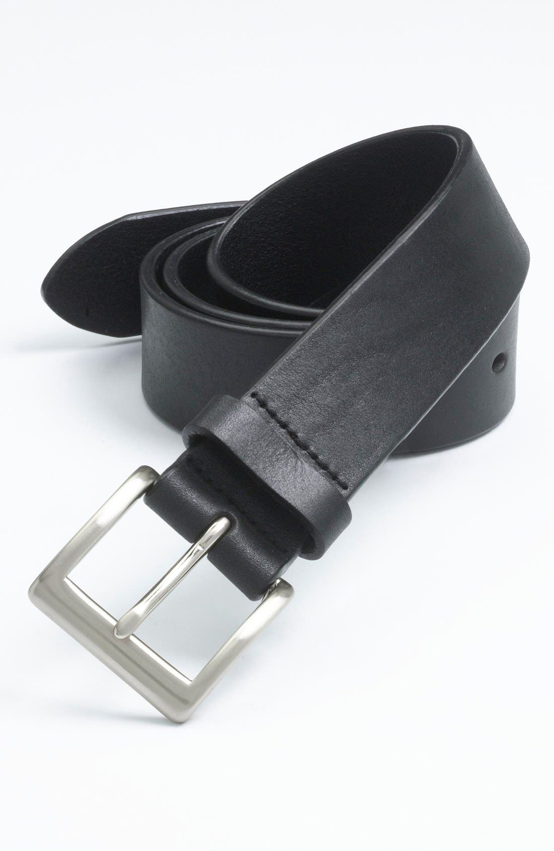 Alternate Image 1 Selected - Trafalgar 'Sportivo' Leather Belt