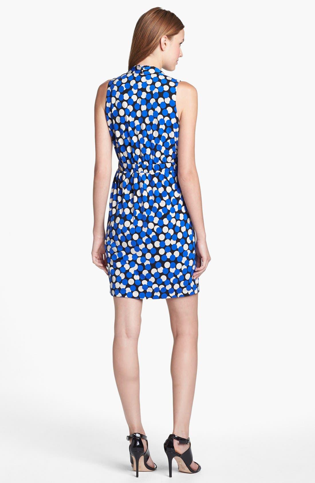 Alternate Image 2  - Donna Ricco Dot Print Sheath Dress