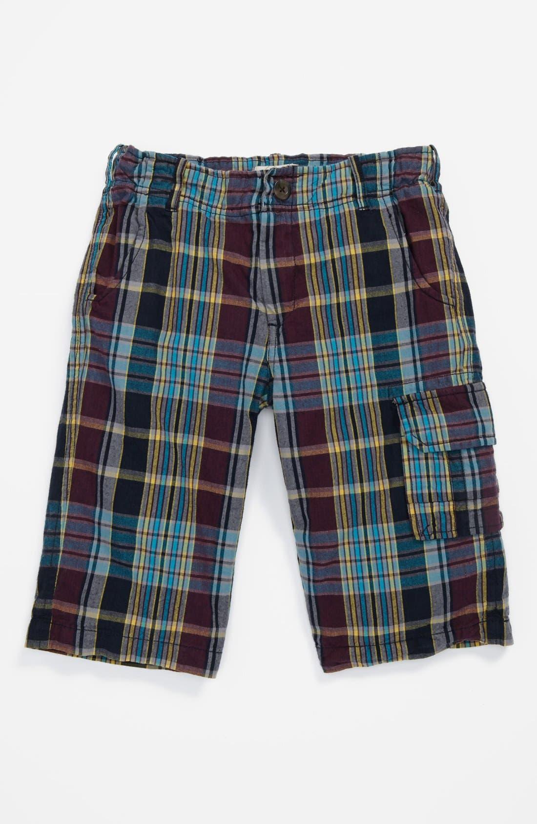 Main Image - Peek 'Sutter' Plaid Shorts (Toddler Boys, Little Boys & Big Boys)