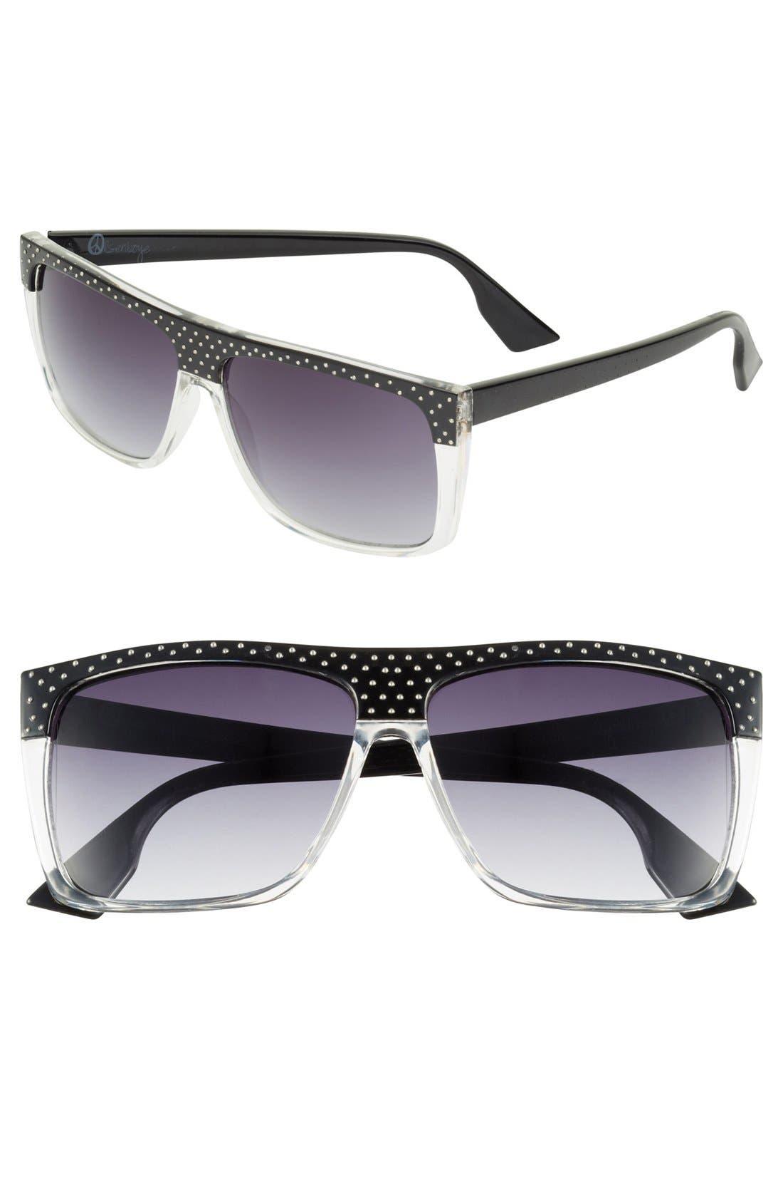 Alternate Image 1 Selected - Outlook Eyewear 'Guggenheim' 59mm Sunglasses