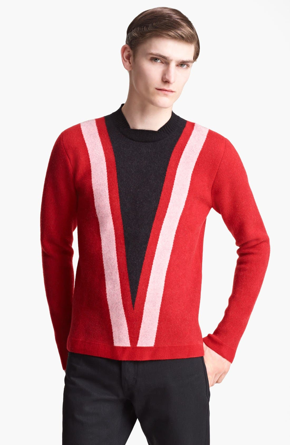 Alternate Image 1 Selected - Burberry Prorsum Crewneck Sweater