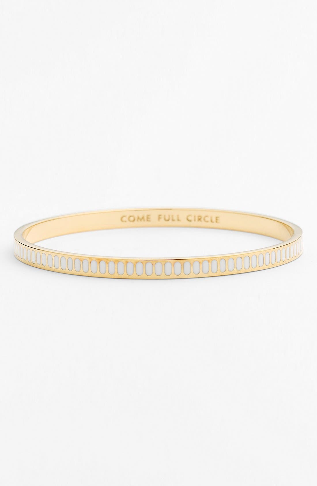 Alternate Image 1 Selected - kate spade new york 'idiom - come full circle' bangle