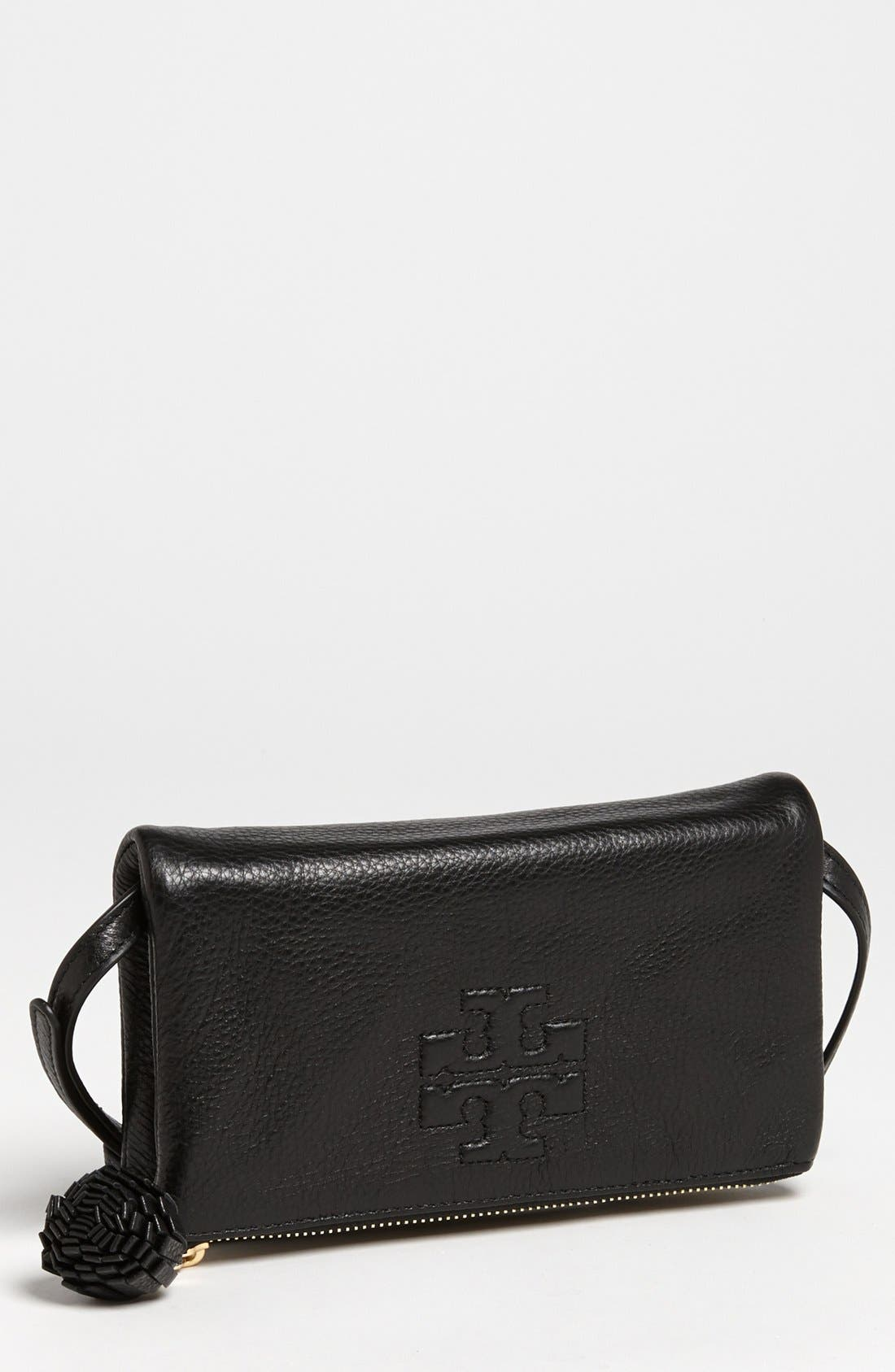 Main Image - Tory Burch 'Thea' Foldover Crossbody Bag