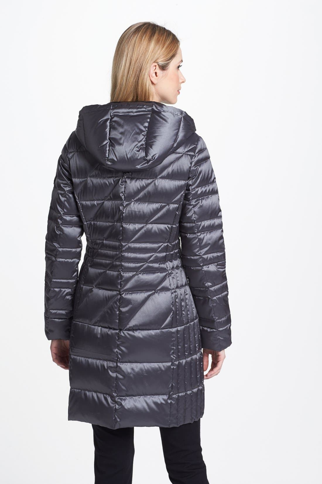 Alternate Image 2  - Bernardo Hooded Packable Goose Down Walking Coat (Regular & Petite) (Nordstrom Exclusive)