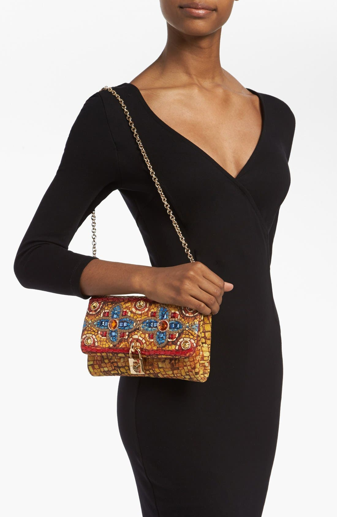 Alternate Image 2  - Dolce&Gabbana 'Miss Dolce - Greek Mosaic' Shoulder Bag