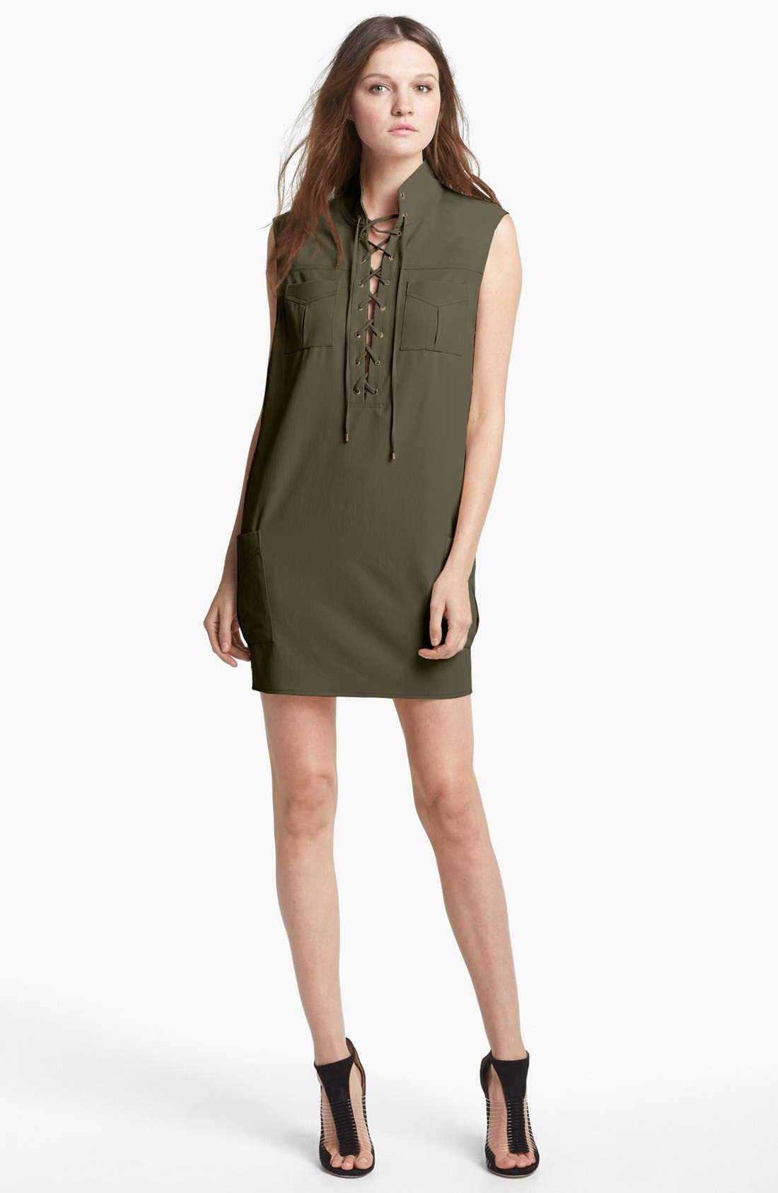 Alternate Image 1 Selected - Haute Hippie 'Safari' Sleeveless Dress