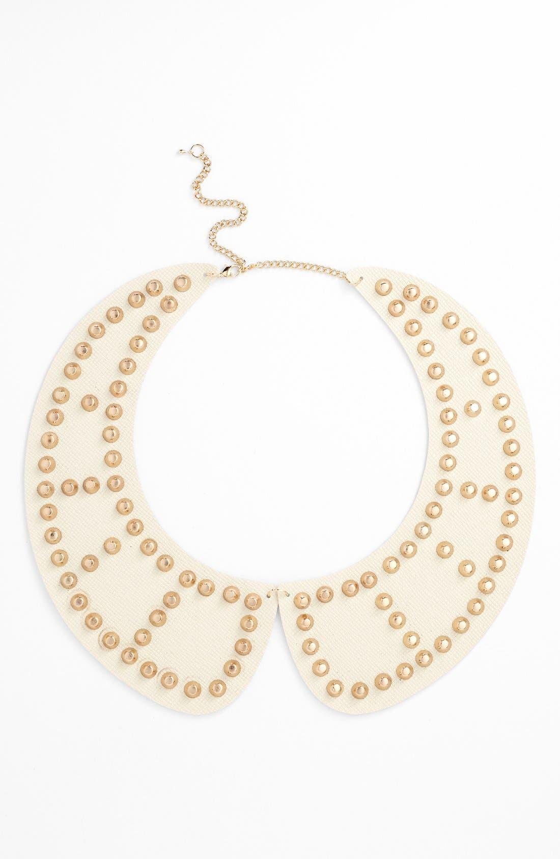 Alternate Image 1 Selected - Tildon Studded Collar Necklace
