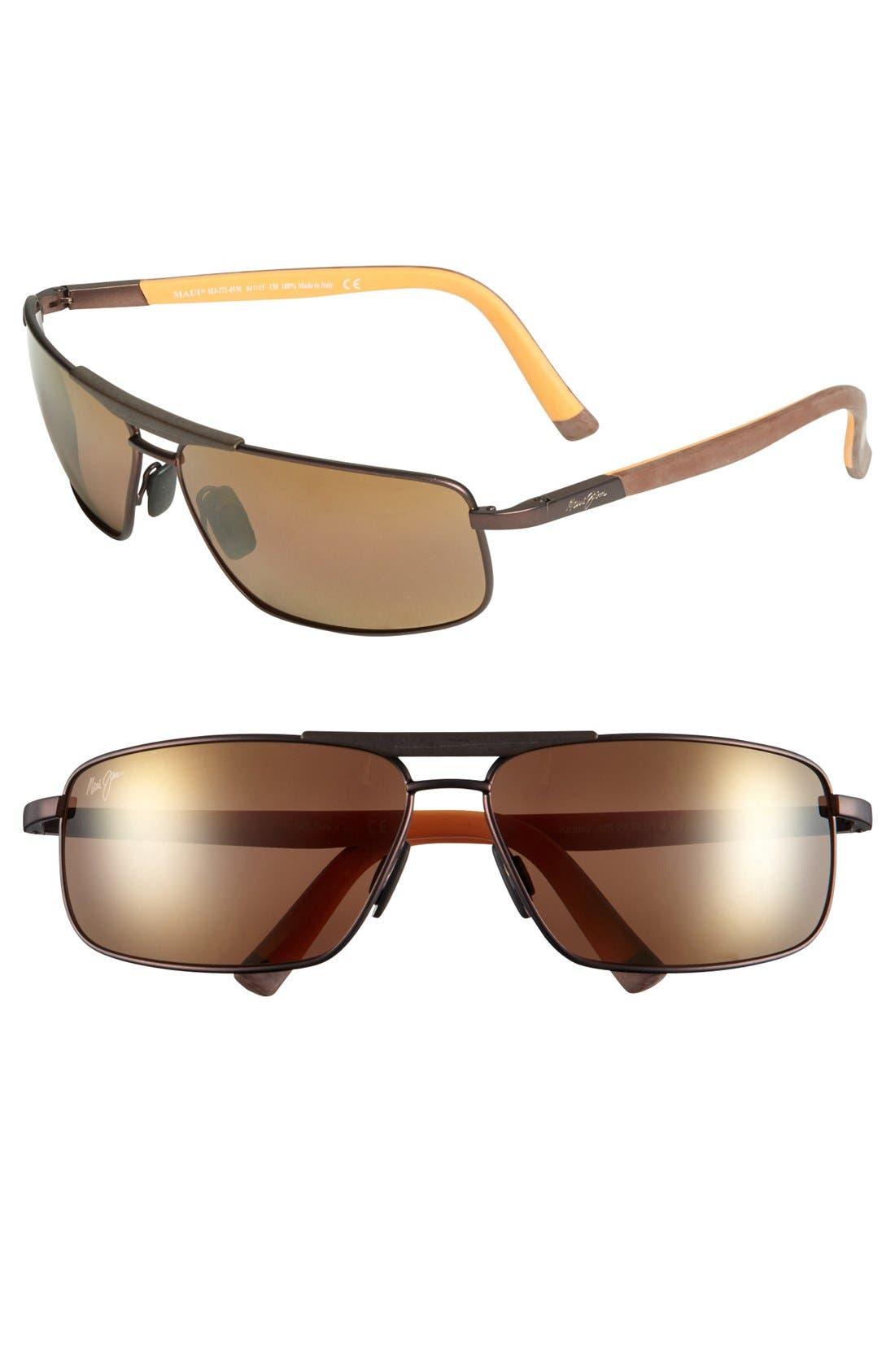 Alternate Image 1 Selected - Maui Jim 'Keanu - PolarizedPlus®2' 64mm Sunglasses