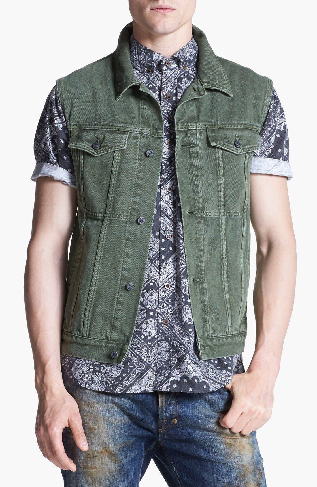 Alternate Image 1 Selected - ZANEROBE 'DiMarco' Denim Vest