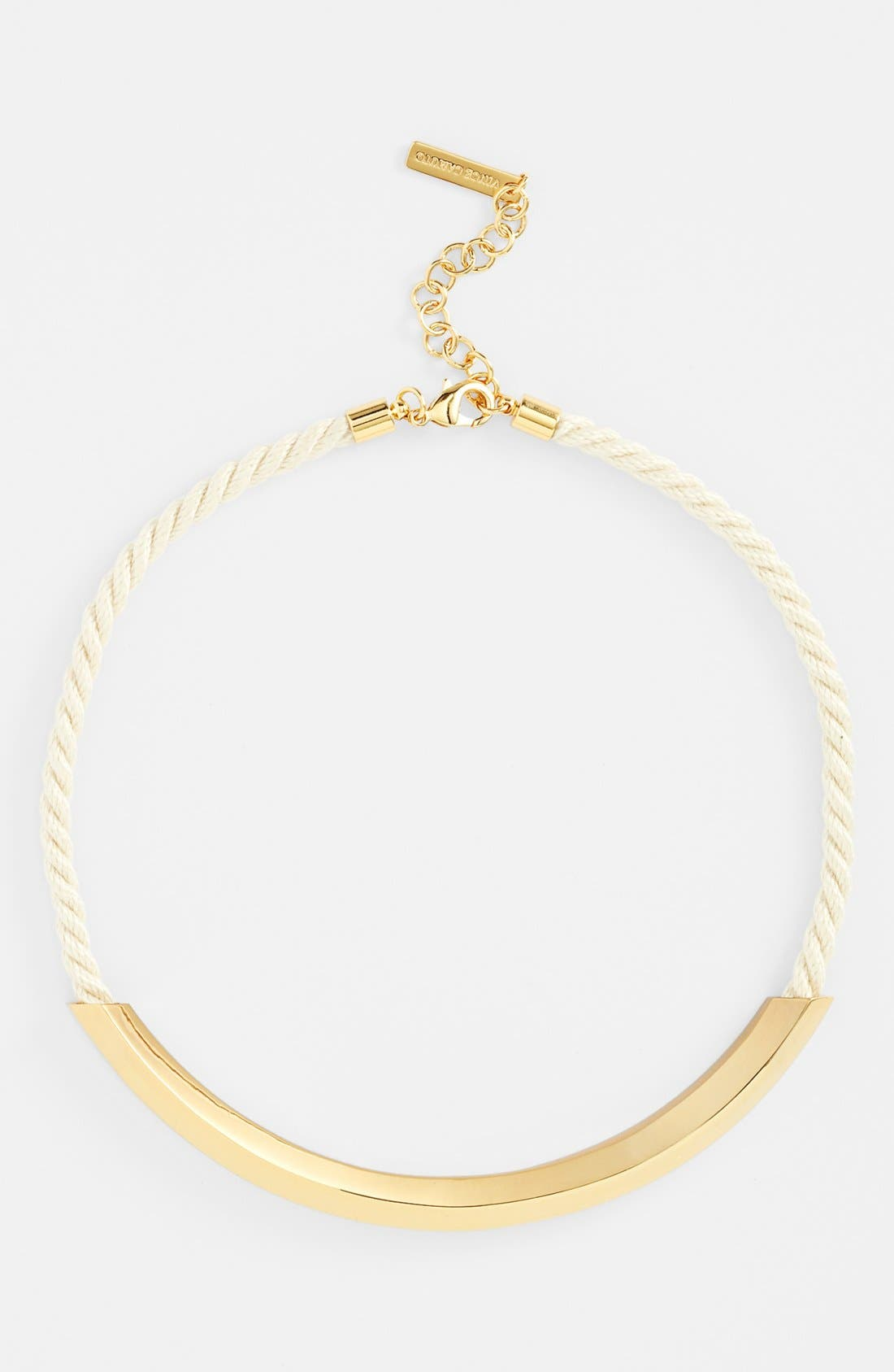 Alternate Image 1 Selected - Vince Camuto 'Rope Royalty' Bib Necklace