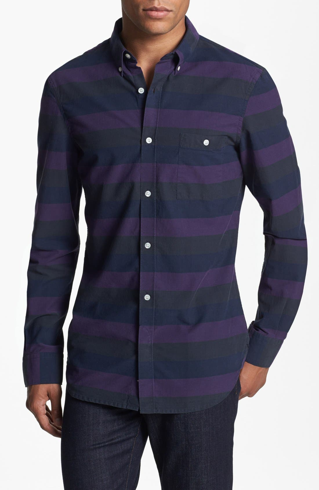 Alternate Image 1 Selected - French Connection 'Air Station' Sport Shirt