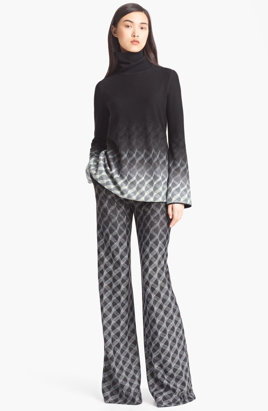 Alternate Image 2  - Missoni Open Back Turtleneck Sweater