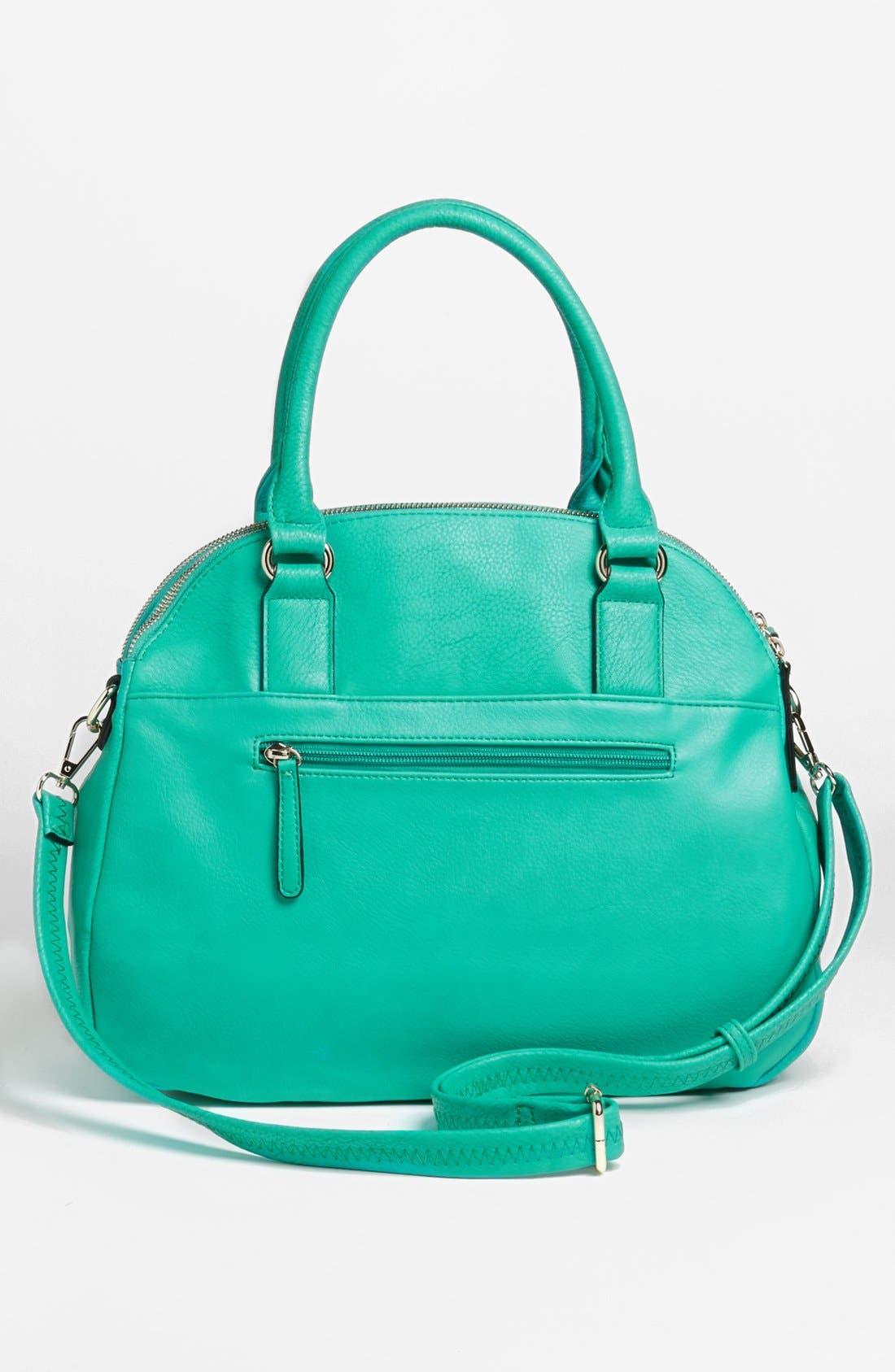 Alternate Image 4  - Emperia Faux Leather Tote Bag (Juniors)
