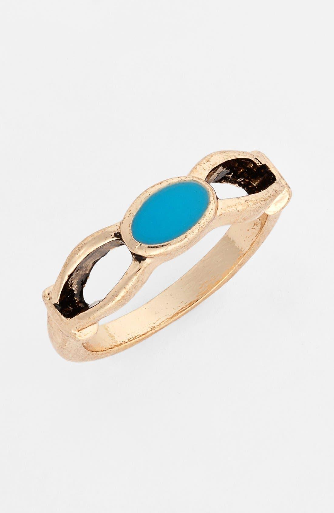 Main Image - South Sun Stone Midi Ring (Juniors)