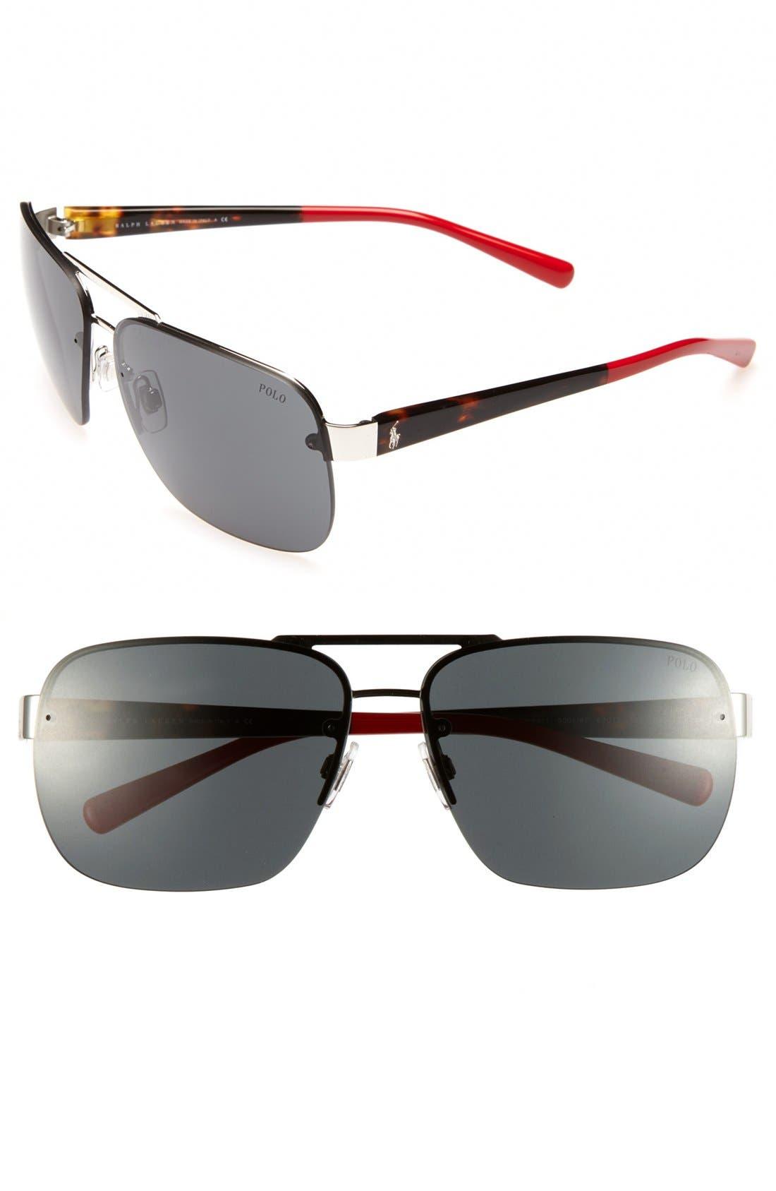 Alternate Image 1 Selected - Polo Ralph Lauren 'Color End' 62mm Sunglasses