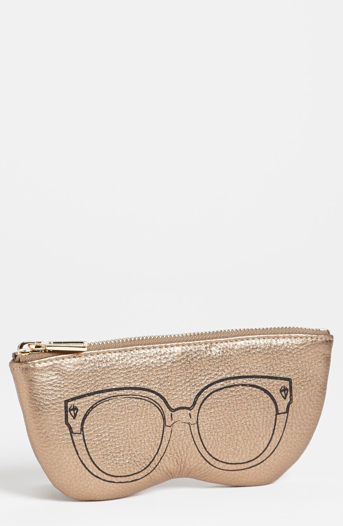 Main Image - Rebecca Minkoff Leather Sunglasses Case