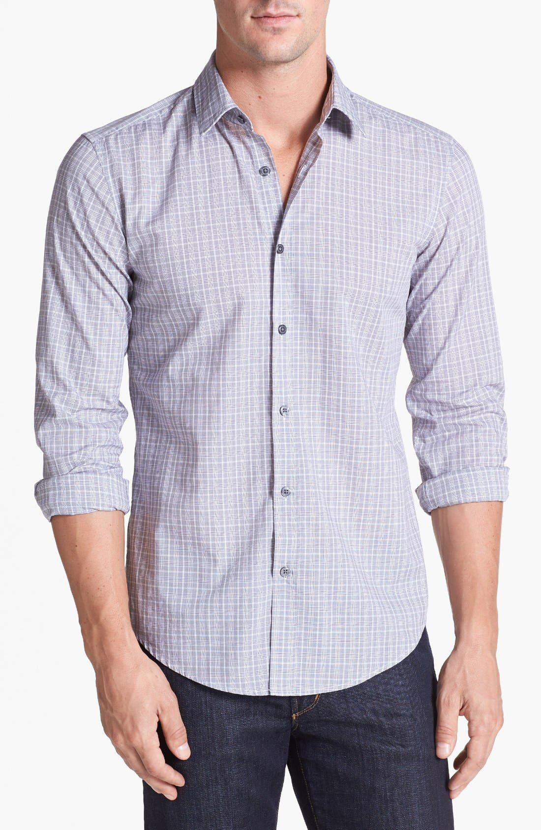 Alternate Image 1 Selected - BOSS HUGO BOSS 'Ronny' Slim Fit Sport Shirt