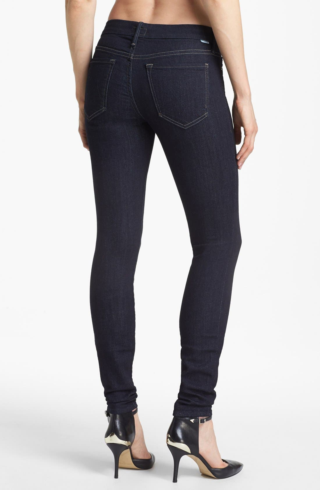 Alternate Image 2  - MOTHER 'The Looker' Skinny Jeans