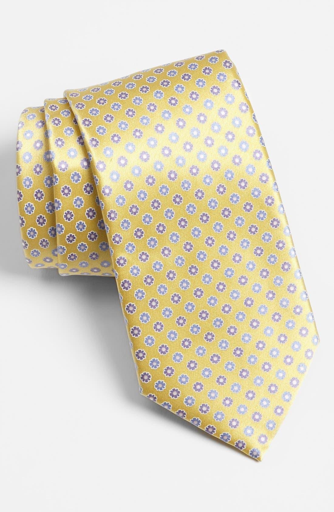 Alternate Image 1 Selected - Valentino Woven Silk Tie