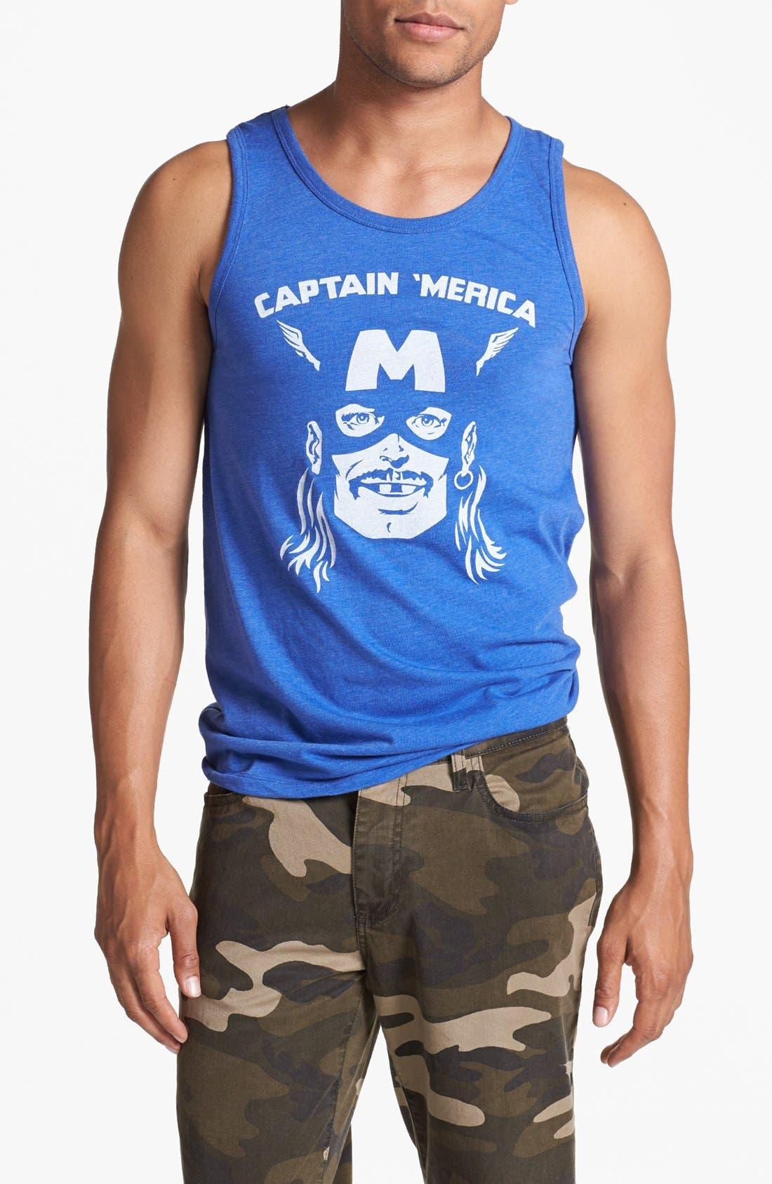 Alternate Image 1 Selected - Headline Shirt 'Captain Merica' Tank Top