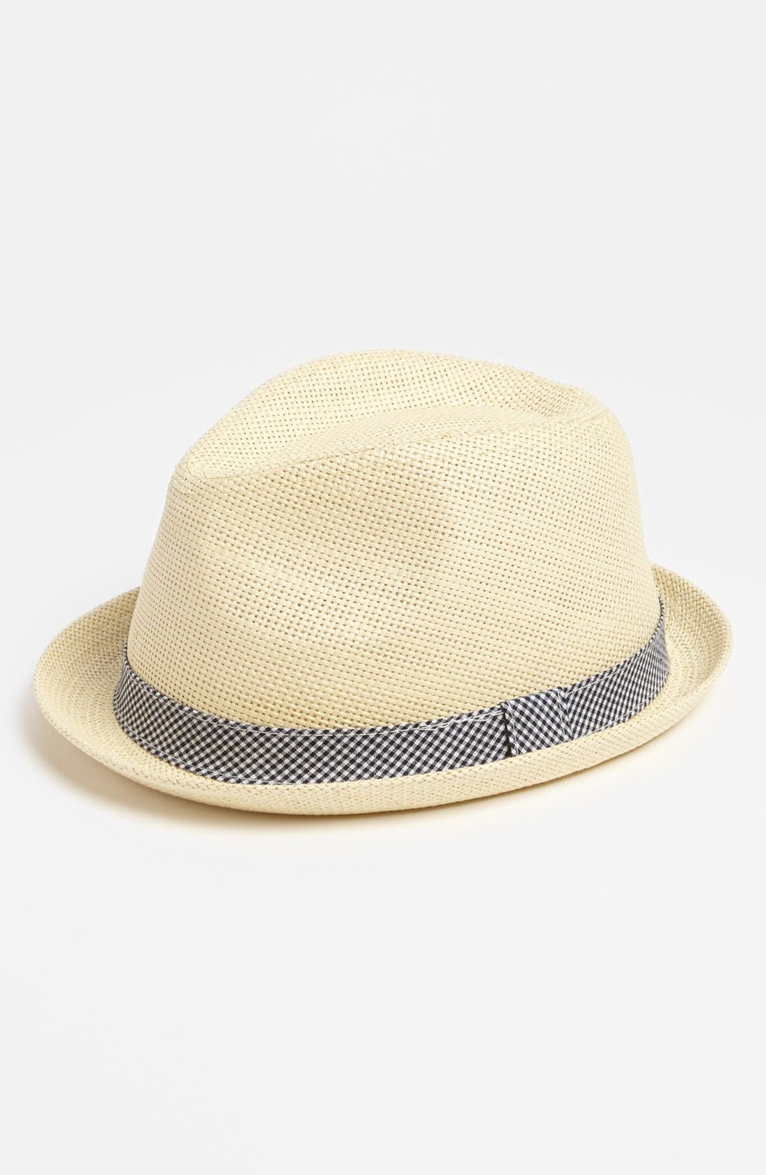 Alternate Image 1 Selected - The Accessory Collective Fedora (Big Boys)