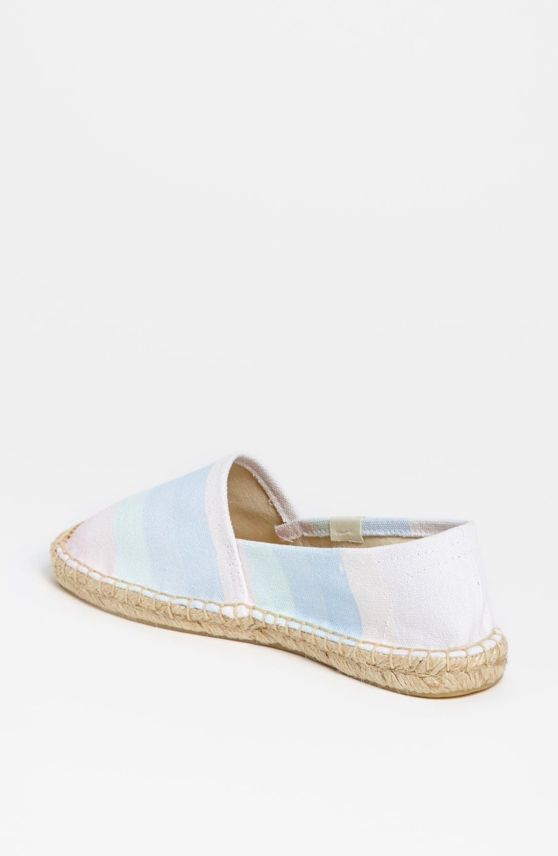 Alternate Image 2  - Soludos 'Ombré Washed Rainbow' Slip-On (Women)