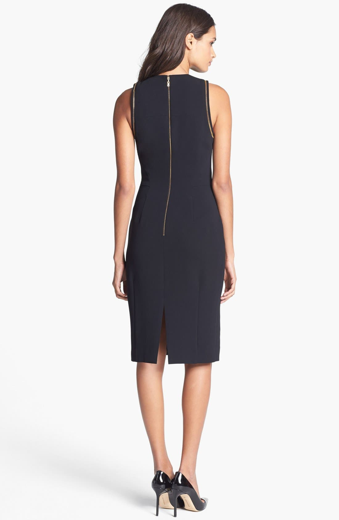 Alternate Image 2  - Rachel Roy Sleeveless Crepe Dress