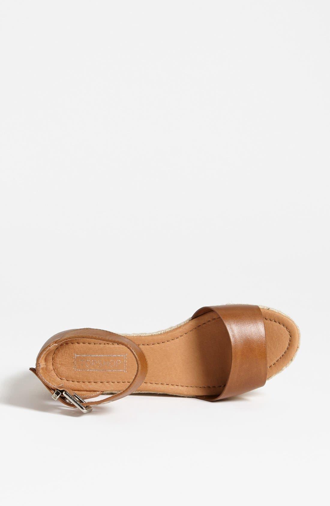 Alternate Image 3  - Topshop 'Woohoo' Sandal