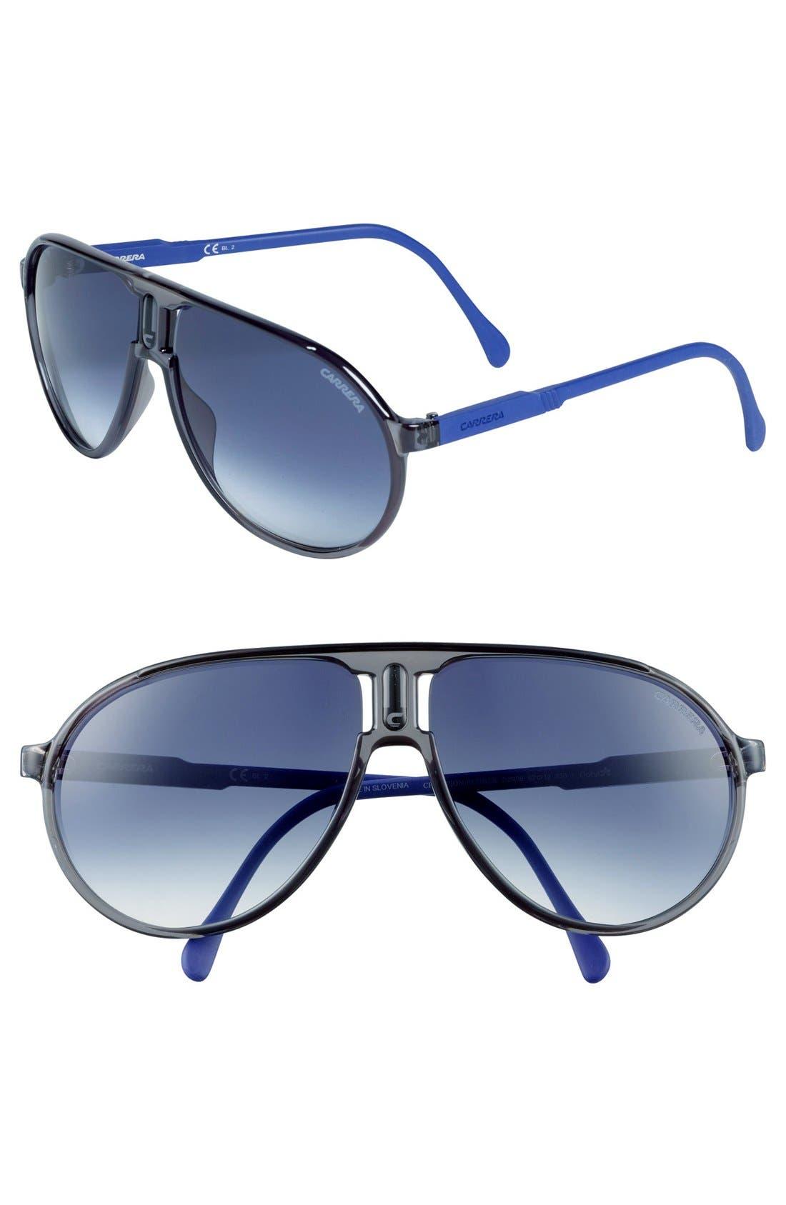 Alternate Image 1 Selected - Carrera Eyewear 62mm Aviator Sunglasses