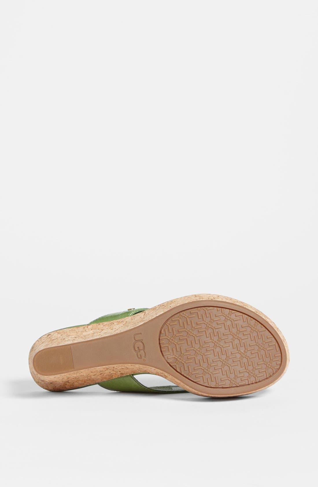 Alternate Image 4  - UGG® Australia 'Natassia' Sandal