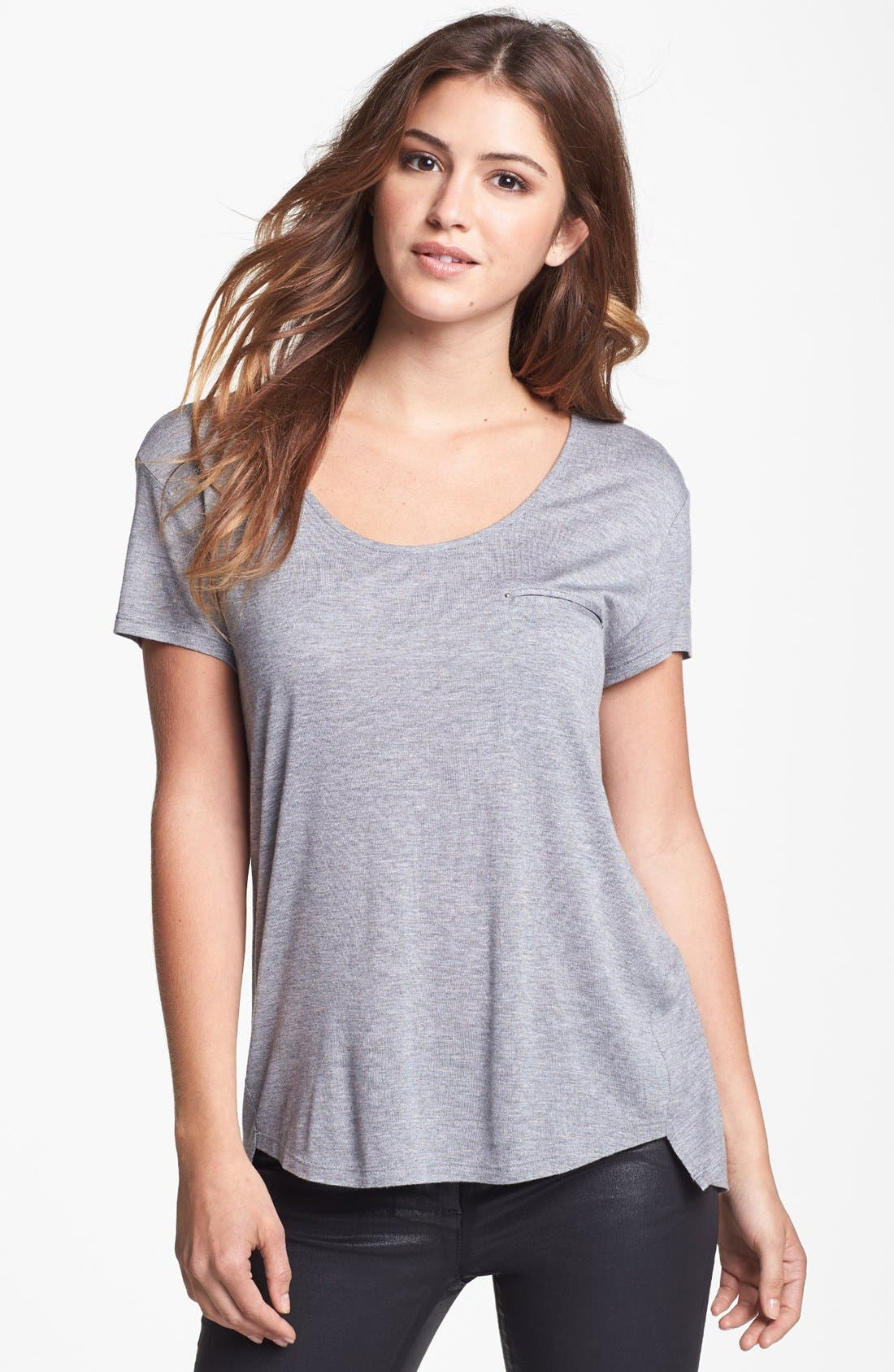 Alternate Image 1 Selected - Two by Vince Camuto High/Low Tee