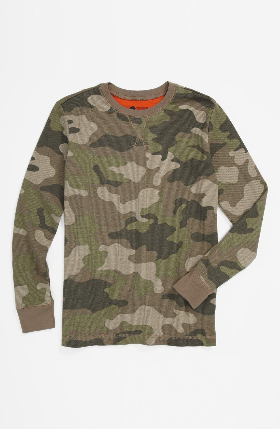 Alternate Image 1 Selected - Tucker + Tate 'Sultan' Long Sleeve Shirt (Little Boys)