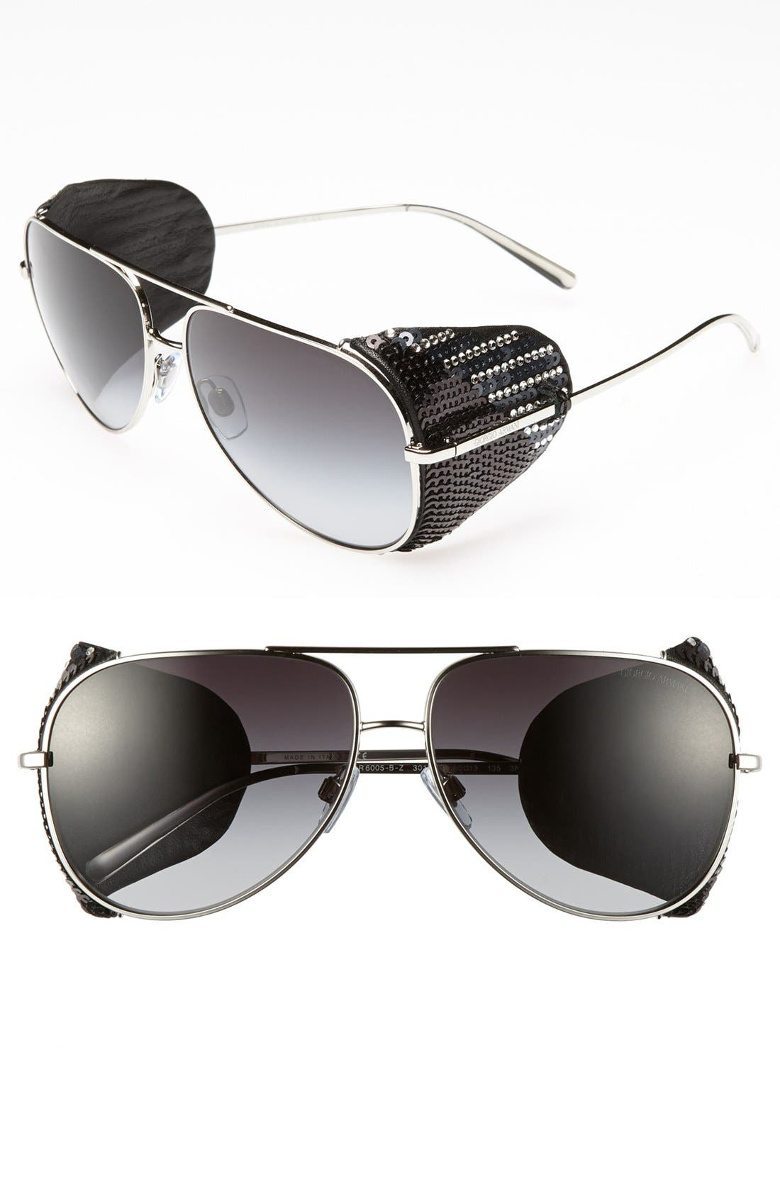 Alternate Image 1 Selected - Giorgio Armani 60mm Sunglasses