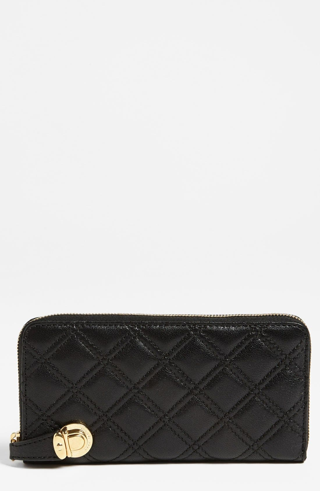 Alternate Image 1 Selected - MARC JACOBS 'Quilting Deluxe' Leather Wallet