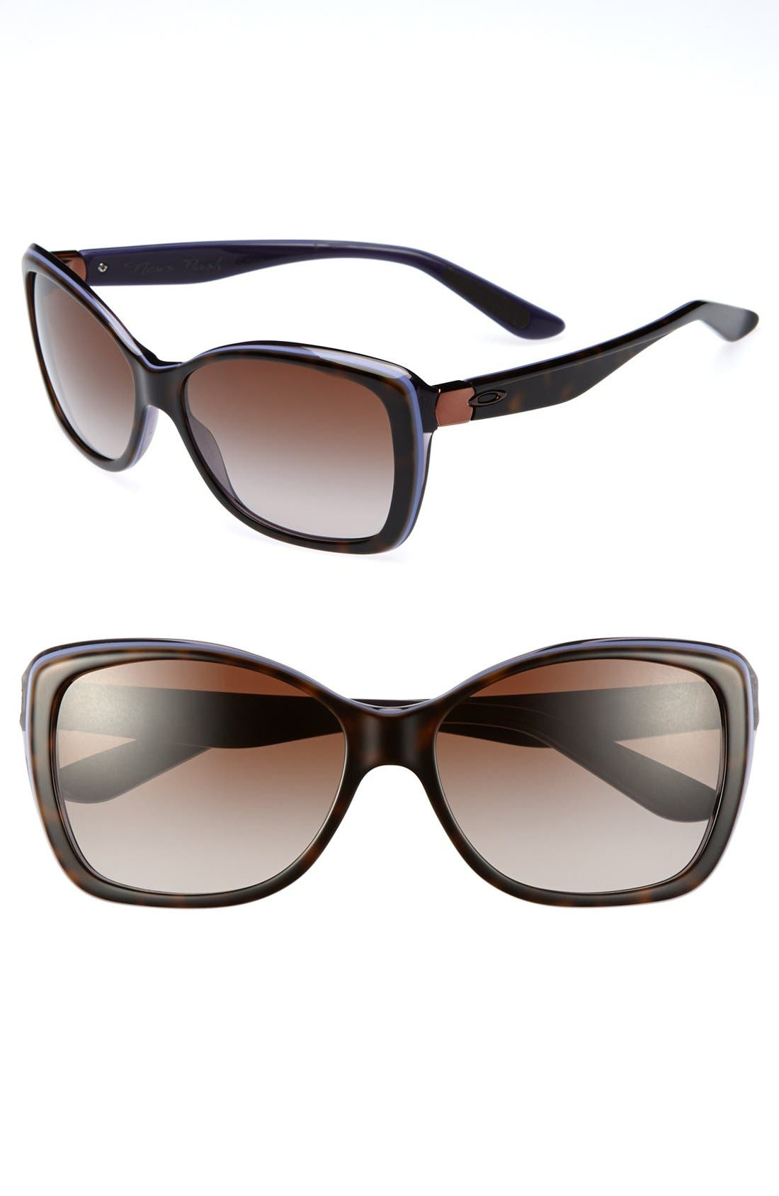 Alternate Image 1 Selected - Oakley 'News Flash' 56mm Sunglasses