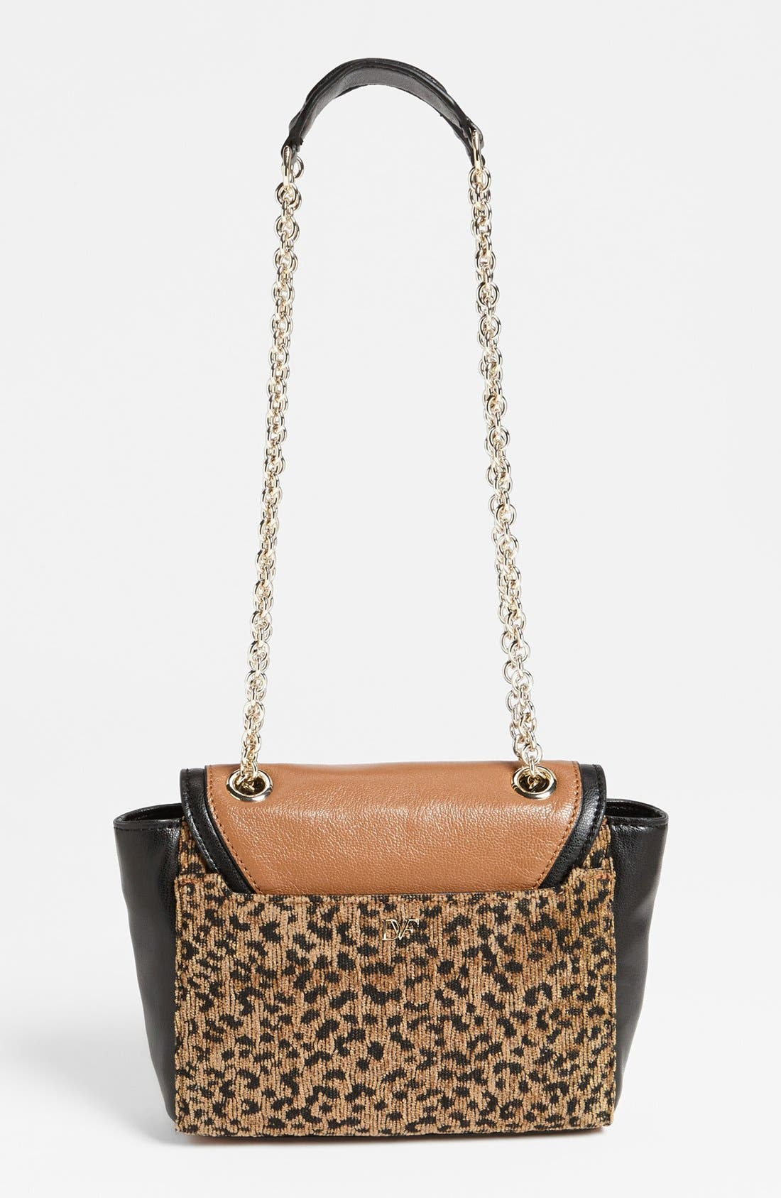 Alternate Image 4  - Diane von Furstenberg '440 - Mini' Leopard Jacquard Crossbody Bag