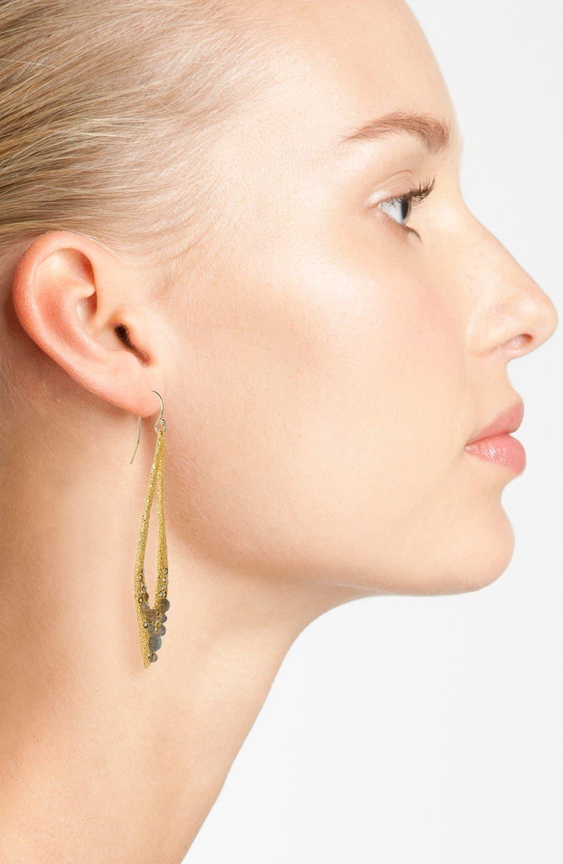 Alternate Image 2  - Alexis Bittar 'Elements - Jardin de Papillon' Open Teardrop Earrings