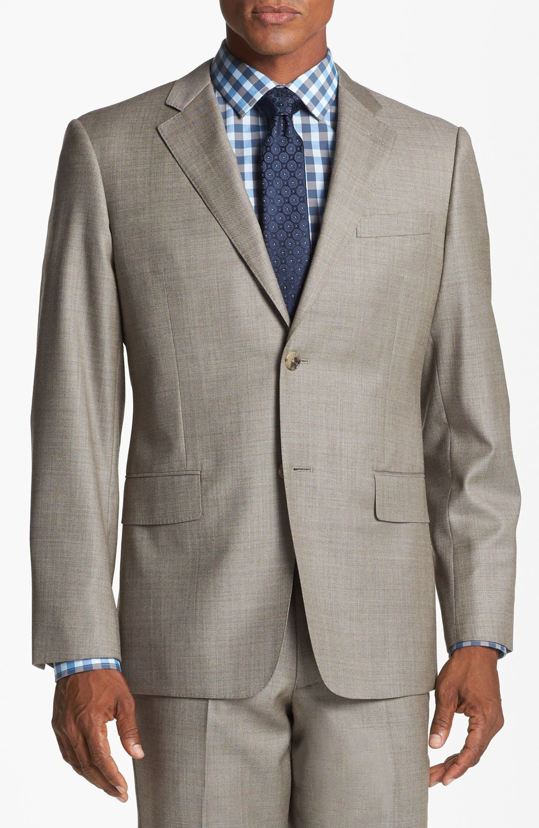Alternate Image 4  - John W. Nordstrom® Classic Fit Wool Suit