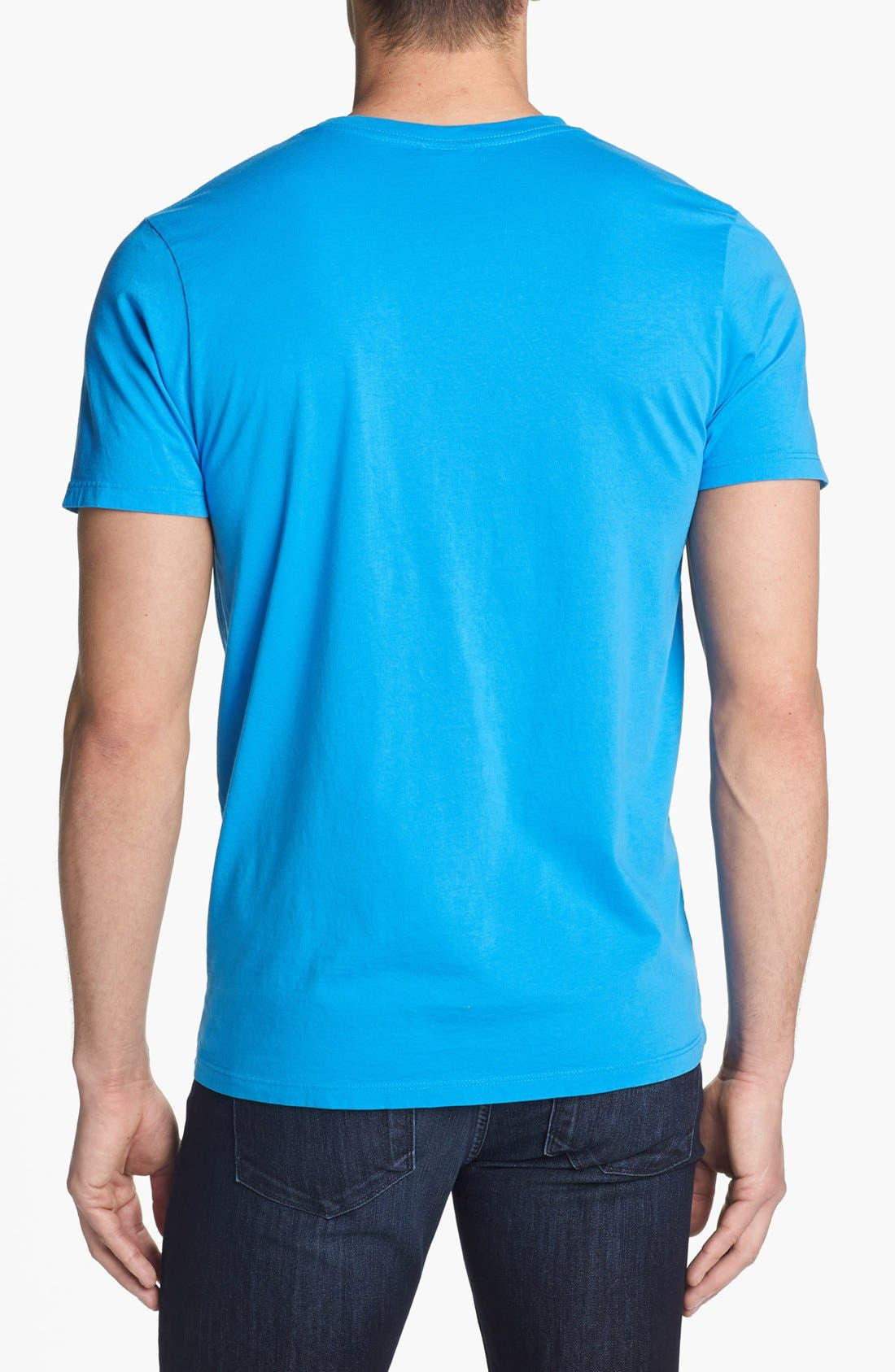 Alternate Image 2  - Junk Food 'Carolina Panthers - Kick Off' Graphic T-Shirt