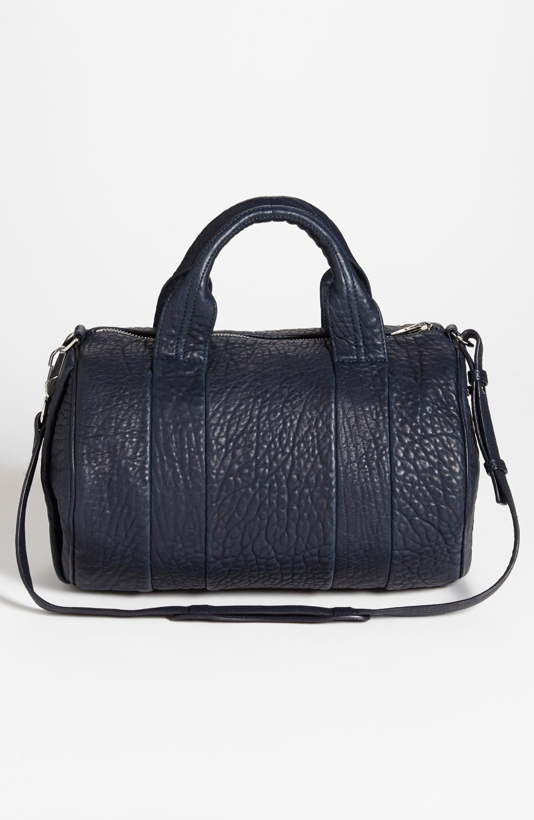 Alternate Image 4  - Alexander Wang 'Rocco - Dumbo Rhodium' Leather Satchel