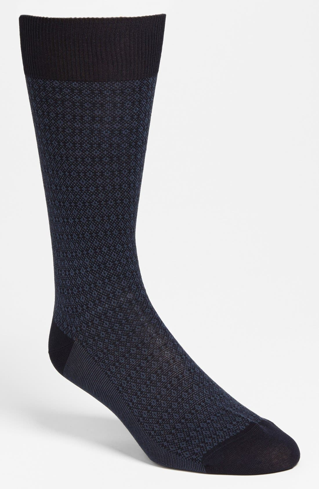 Alternate Image 1 Selected - Pantherella 'Fenchurch' Birdseye Socks