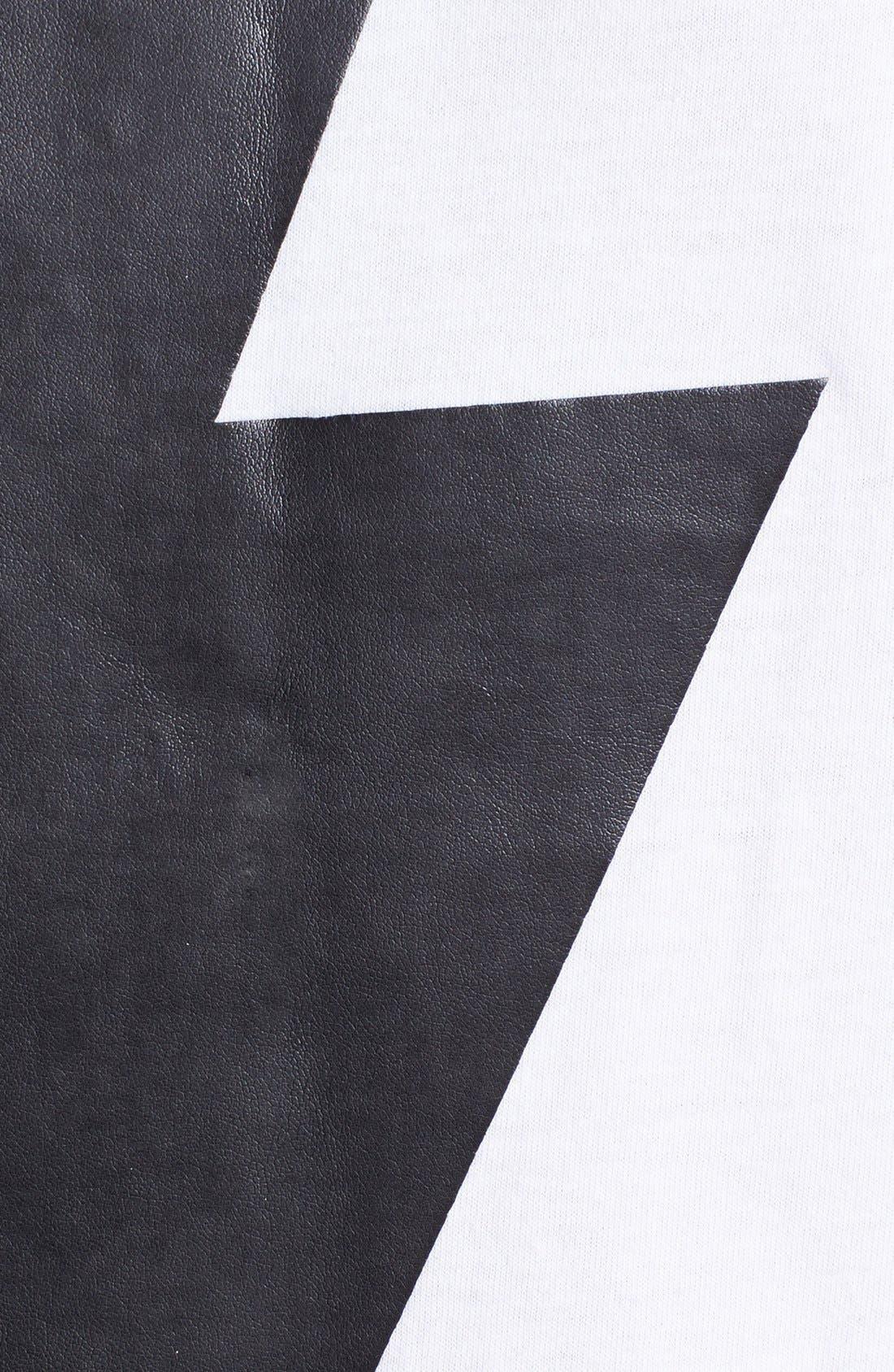 Alternate Image 3  - Topman Bolt Graphic T-Shirt