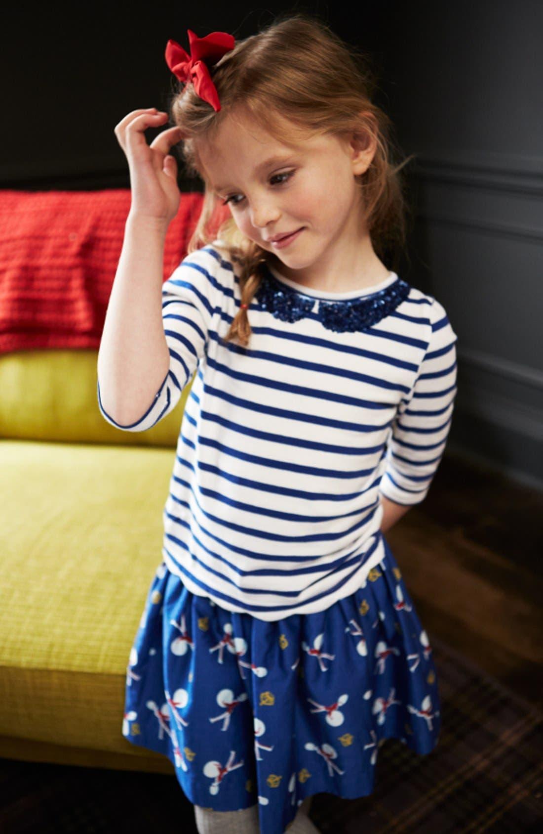 Alternate Image 2  - Mini Boden 'Heritage' Full Skirt (Little Girls & Big Girls)